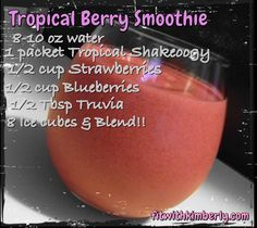 My FAVORITE Tropical Shakeology recipe!