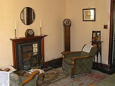 Living room at Summerlee Museum of Scottish Industrial Life, Coatbridge | There's always more to discover in Lanarkshire.... http://www.visitlanarkshire.com/attractions/historic-heritage/Summerlee-The-Museum-of-Scottish-Industrial-Life/
