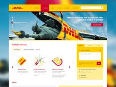 DHL redesign