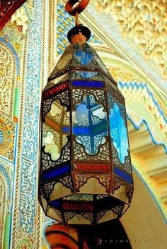 Moroccan lantern style..