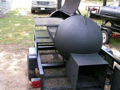 Custom BBQ Smokers