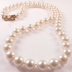 mikimoto pearls...so classic. A birthday gift from long ago.