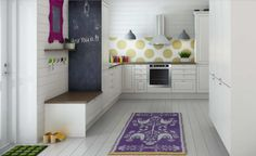 (via Nordic Kitchen Design Inspiration) Swedish Kitchen, Nordic Kitchen, Scandinavian Kitchen, Scandinavian Interior, Home Interior, Interior Design Kitchen, Kitchen Decor, Interior Decorating, Kitchen Ideas