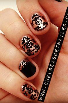 Brocade Pattern Nails | Women's Look | ASOS Fashion Finder
