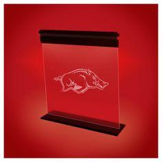 NCAA Arkansas Razorbacks Acrylic Neon Led Light