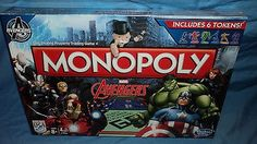 Family Board Games, Marvel Avengers, Monopoly, Baseball Cards, Nice, Check