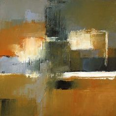 """Underhill #3  acrylic on canvas  18""""x18"""" by IRMA CERESE"""