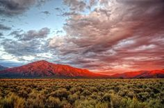 The Sangre de Cristo Mountains In New Mexico Take You Above The World New Mexico Style, Taos New Mexico, New Mexico Homes, New Mexico Usa, Santa Fe, Travel New Mexico, New Mexican, Land Of Enchantment, The Great Outdoors