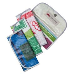 Eco friendly wallet made from recycled rice bags!  From Freedoms Promise who are working to prevent human trafficking in Cambodia.