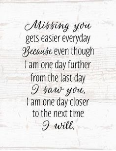 Sympathy Gift - Missing You- Wood Sign or Canvas Wall Art - Mom Memorial, Dad Memorial, Loved One