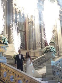 Wedding at the Ciragan Palace Istanbul, Turkey