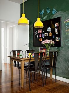 Looking for small dining room ideas? Tons of dining room inspiring Ideas! Find the most suitable design and improve your home's decoration! Tiny Dining Rooms, Small Dining, Small Rooms, Best Kitchen Designs, Interior Decorating, Interior Design, Tiny Spaces, Decoration, Sweet Home