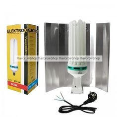 CFL / Low Energy Kit 250W Dual Spectrum - 2700/6500k. #growkits