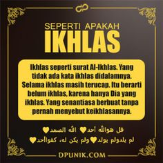 Seperti Apakah Ikhlas? Muslim Quotes, Religious Quotes, Positive Quotes, Motivational Quotes, Inspirational Quotes, Muslim Religion, Best Quotes, Life Quotes, Moslem