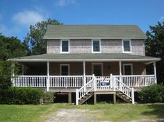 BJ Garrish Cottage a 3 Bedroom  Rental House in Ocracoke, part of the Outer Banks of North Carolina. Includes Hi-Speed Internet. Non-Smoking.