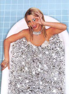 Diamond bath.