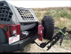 Adding trailer hitch for bike rack. Will it work with the spare ...