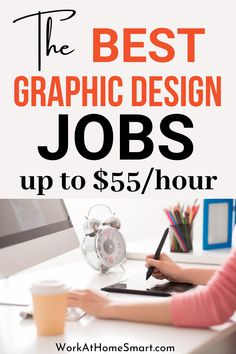 Looking for the best freelance graphic design jobs online? If yes, be sure to check out this list of online jobs for graphic designers. Legit Work From Home, Legitimate Work From Home, Work From Home Jobs, Work From Home Companies, Freelance Graphic Design, Online Jobs, Work From Home Business