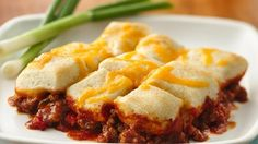 Sloppy Joe Casserole: Unroll & separate 1 can Pillsbury breadsticks, cut each into quarters. Pour 1 lb cooked ground beef and 1 can (15 oz) sloppy joe sauce into 12x18 baking dish; cover with break sticks in a single layer; bake 13 min. Sprinkle 1/2 c shredded cheese over top; bake until cheese melts.
