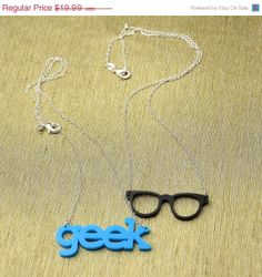 End Of Summer SALE Geekly Chic  Geek Glasses and by CardinalGift, $15.99