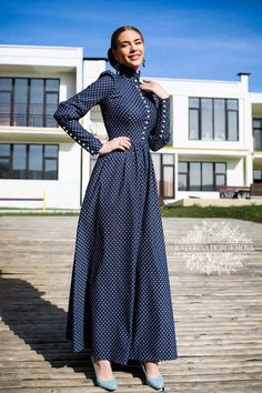 South African Traditional Dresses 2019 - style you 7 Modest Dresses, Modest Outfits, Simple Dresses, Casual Dresses, Muslim Fashion, Modest Fashion, Hijab Fashion, Fashion Outfits, Fashion News