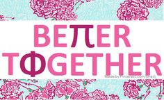 Pi Beta Phi: Better Together! Made by Pinterest.com/oneilj #piphi #pibetaphi