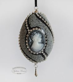 Faberge eggs  small beads and cameo
