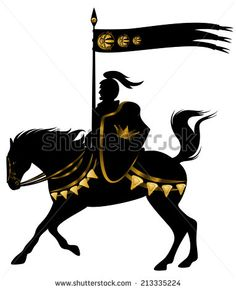 stock-photo-knight-in-black-and-gold-armor-with-a-spear-standard-riding-a-horse-with-golden-decor-213335224.jpg 382×470 pixels
