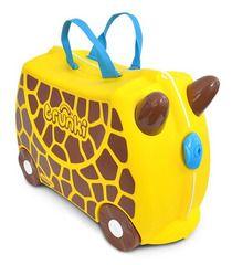 Чемодан на колесиках Trunki Жираф Джери(0265-GB01) - Trunki - купить в интернет-магазине Киндерама
