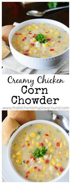 ... about soups on Pinterest | Corn chowder, Fresh tomato soup and Chili