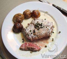 Neobyčejně chutná teplá omáčka ke steaku.