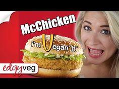 Vegan McDonalds Series: McChicken Sandwich | The Edgy Veg