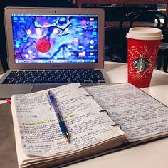 tanya's studyblr — studyforlife27: Feeling productive ☕️
