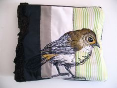 Tara Badcock PARIS+TASMANIA- Scrub Wren purse 2012 by Tara Badcock, via Flickr