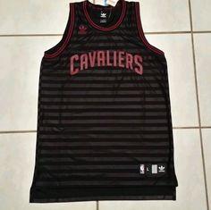 Rare  NWT ADIDAS Cleveland Cavaliers NBA Jersey Men's Large  #adidas #ClevelandCavaliers