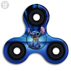ALEJANDRO VALADEZ Lilo And Stitch Small Hand Tri-Spinner Fingertip Gyroscope Hand Fidget Spinner With Smooth Finished, Best Stress Reducer Toy For Killing Time Kids & Adults - Fidget spinner (*Amazon Partner-Link)