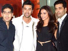 Ranbir Kapoor touched the feet of Karan Johar and Ayan Mukherjee!