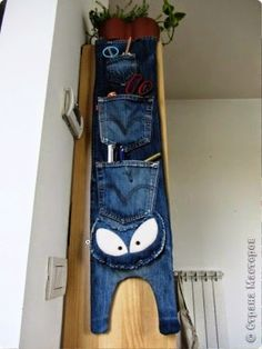 Especial Reciclar vaqueros - Jeans · ORGANIZADORES DE MATERIALES