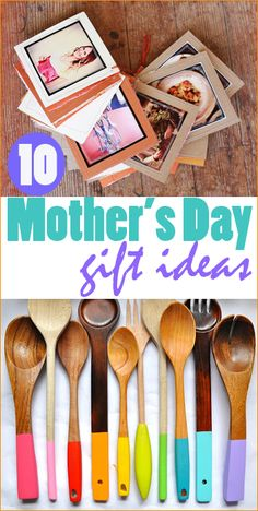 Easy Mothers Day Gift Ideas (I like these colorful spoons). Diy Mothers Day Gifts, Fathers Day Crafts, Happy Mothers Day, Gifts For Mom, Homemade Gift For Grandma, Grandma Gifts, Homemade Gifts, Craft Gifts, Diy Gifts