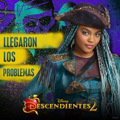 Uma the daughter of Ursula Disney Channel Descendants 2, Descendants Wicked World, Disney Descendants 2, Descendants Cast, Cameron Boyce, Disney Junior, Disney Xd, Dove Cameron, Dreamworks