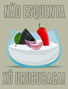 Não esquenta, xô urucubaca by weno, via Flickr