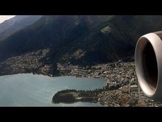 Remarkable Queenstown Airport Takeoff to Auckland - YouTube