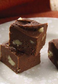 Chocolate PHILADELPHIA Fudge – How does this easy no-bake fudge achieve its incredibly creamy texture? Three words: PHILADELPHIA Cream Cheese!