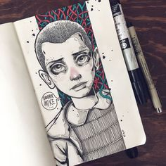 Below you will find a compilation of awesome 'Stranger Things' fan art pieces…