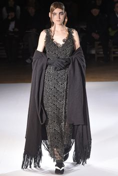 Women's Wear Daily brings you breaking news about the fashion industry, designers, celebrity trend setters, and extensive coverage of fashion week. 2015 Trends, Fashion News, Fashion Trends, Yohji Yamamoto, Fall 2015, Catwalk, Fall Winter, Black And White, Lace