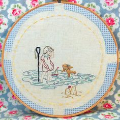 Bustle and Sew: Rosie & Bear: On the Beach!