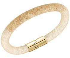 Stardust Armbånd Gull/Krystall, M, Swarovski Swarovski Bracelet, Swarovski Jewelry, Swarovski Crystals, Golden Jewelry, Jewelry Bracelets, Bangles, Fine Jewelry, Jewelry Box, Fashion Jewelry