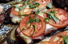 Parmigiano Reggiano, Caprese Salad, Summer Recipes, Mozzarella, Ham, Basil, Pizza, Low Carb, Lunch