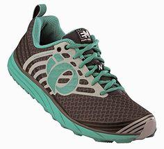 san francisco f2c3a 24686 Pearl Izumi Womens EM Trail N 1 Shoes Shadow Grey Black 095 Glove Bundle --