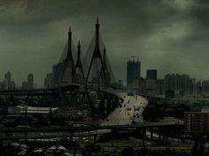 Back in Bangkok or Gotham city?